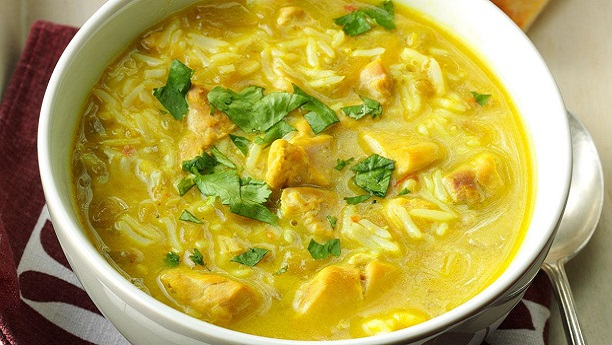 Curried Chicken Soup