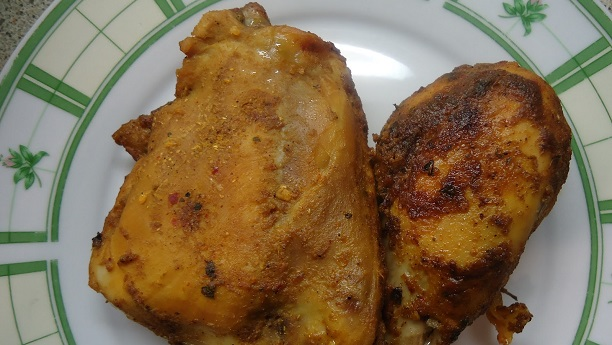 Desi Roast Chicken By Bajias Cooking by Chef Bajias