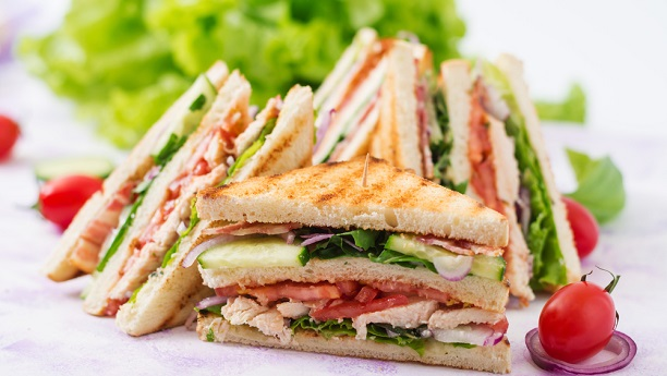 Different Style Club Sandwich