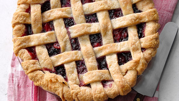 Double Blackberry Pie