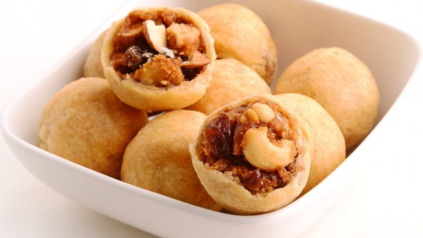 Dried Fruit Kachori