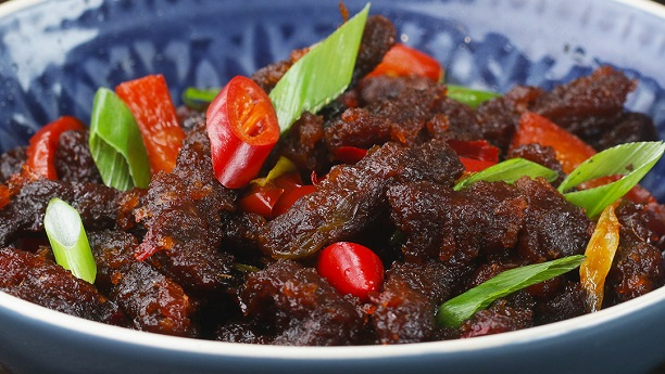 Dry Beef Chilli