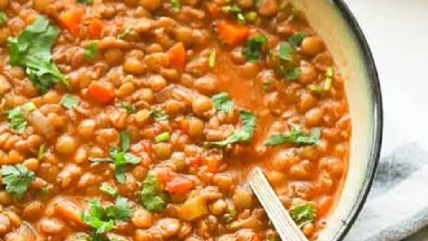 Easy and Fresh Lentil Soup