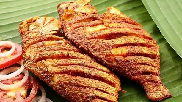 Pomfret Fish Fry Recipe Sea Food Recipes In English