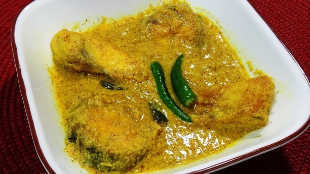 Fish with Mustard Oil