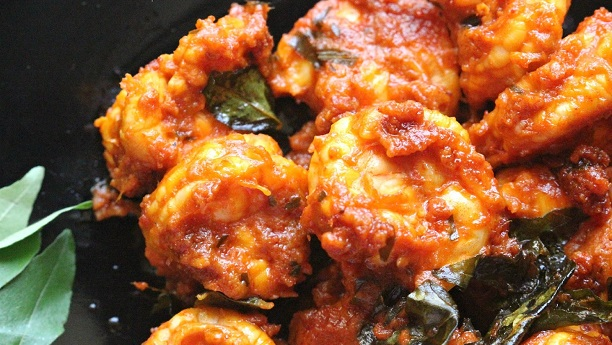 Fried Prawn Masala
