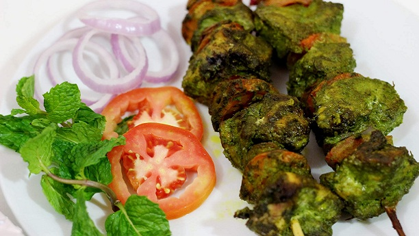 Green Chicken Tikka