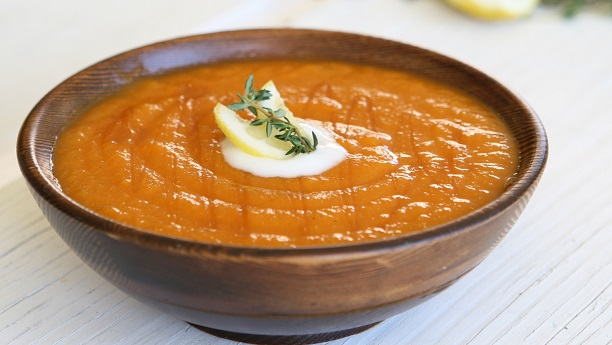 Honeyed Carrot Soup