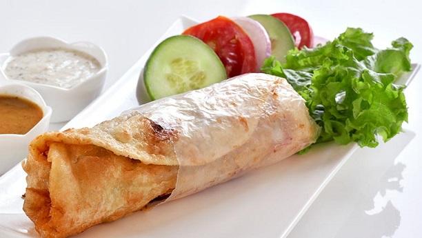 Hot N Spicy Chicken Roll Recipe By Saadat Siddiqui Chicken Recipes In English