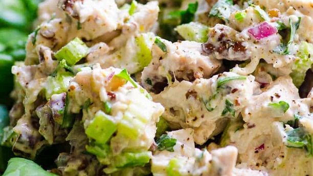 Hot or Cold Chicken Salad By Chef Fauzia