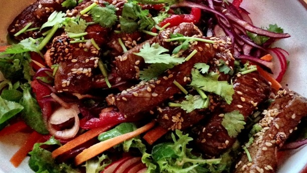 جاپانی بیف تمپورا<br/>japanese beef tambora