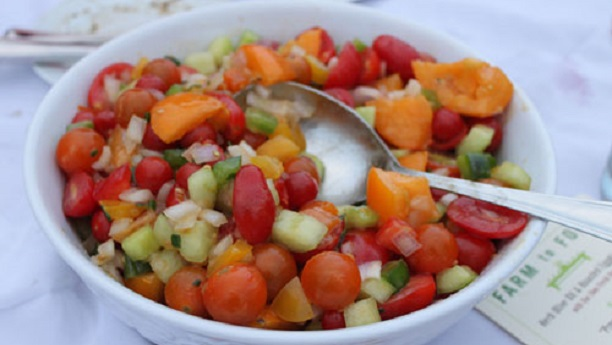 Jellied Gazpacho Salad