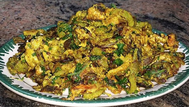 Karela with Egg