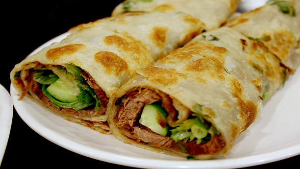 kebab paratha wrap
