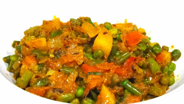 mixed sabziya Recipe