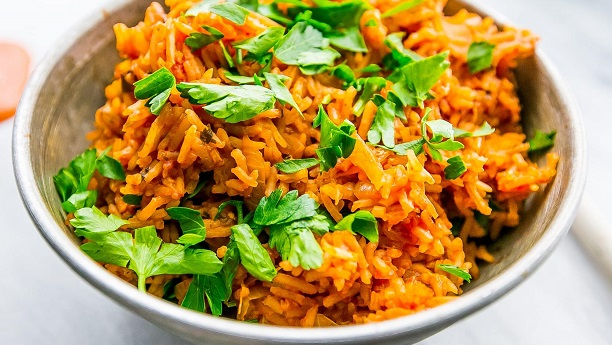 Nandos Spicy Rice by Naushaba Ahmed