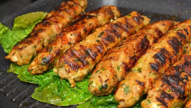 Pakistani Chicken Kabobs