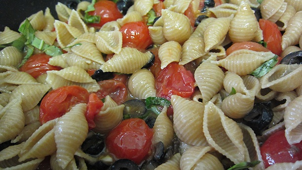 Pasta Shells With Anchovy Sauce