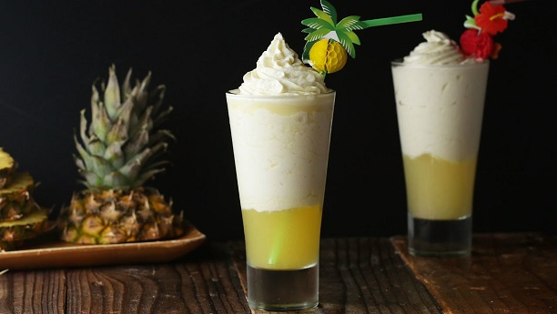 Pineapple Cream Drink