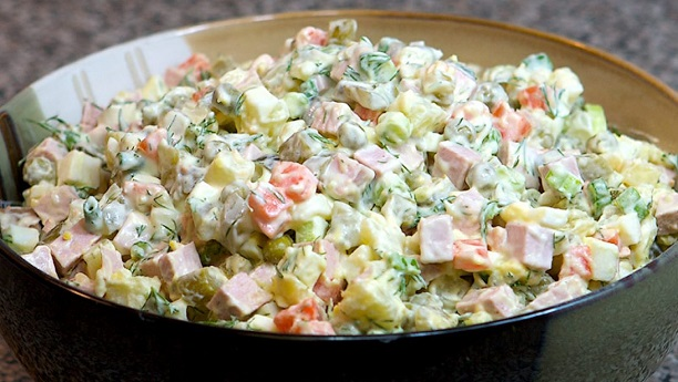 Russian Salad By Chef Fauzia