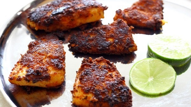 Spiced Fried Fish (Tali Machee)