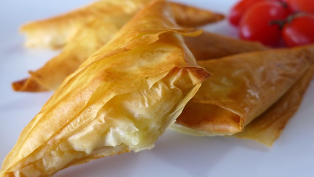 Spicy Cottage Cheese Triangles  by Sharmane Sayeed