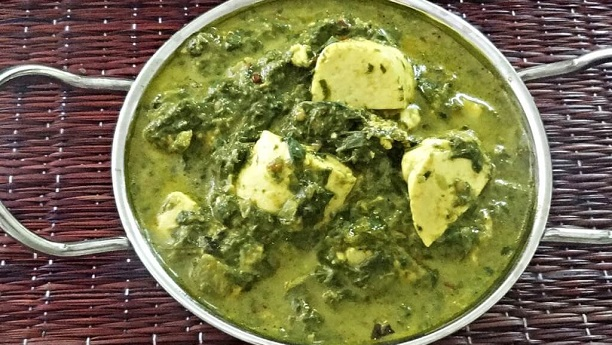 Spinach With Cottage Cheese