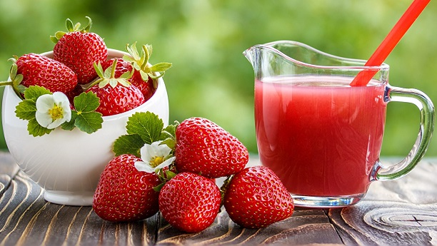 Strawberries Juice