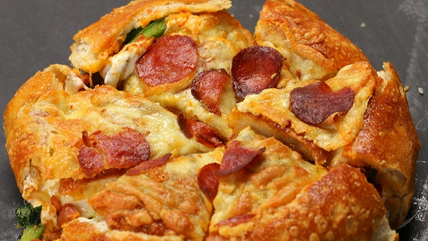 Stuffed Pizza Bread