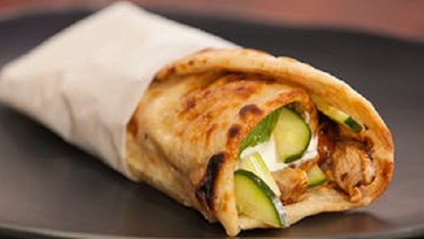 Tandoori Chicken Roll