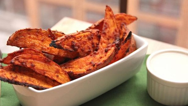 Tandoori Potato Wedges Recipe