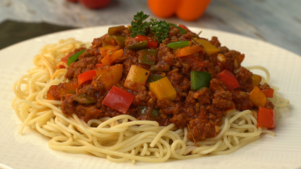 Tasty Minced Beef Spaghetti Recipe