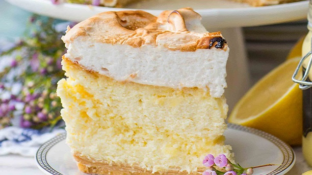 Vanilla and Lemon Zest Cheesecake