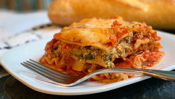 Vegetable Lasagna by Chef Gulzar