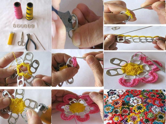Make the best use of waste materials art and creativity for Waste materials at home