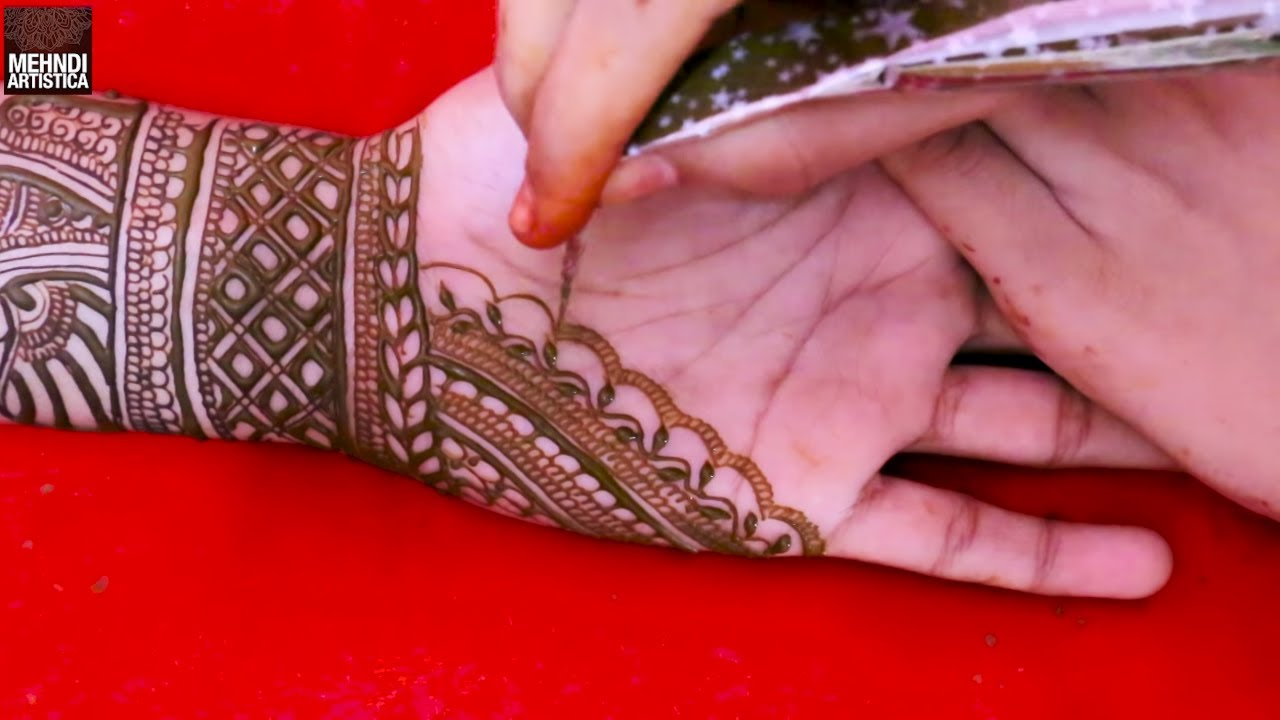 Latest Indian Henna Design 2019