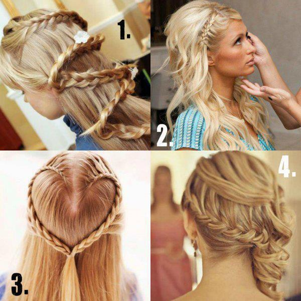 4 Unique Hairstyle Ideas for Girls