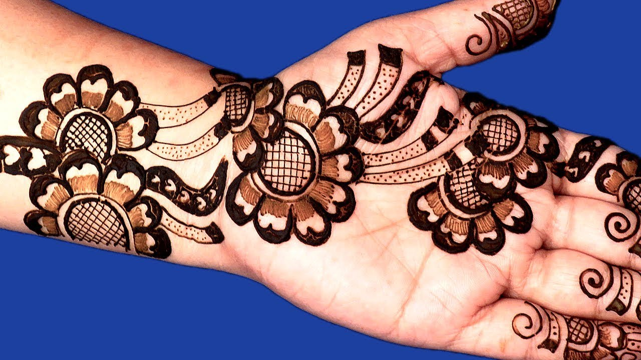 Pakistani Henna Design 2018