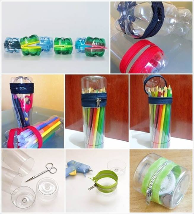 Make mop by using waste plastic bottle art and for Useful things from waste bottles
