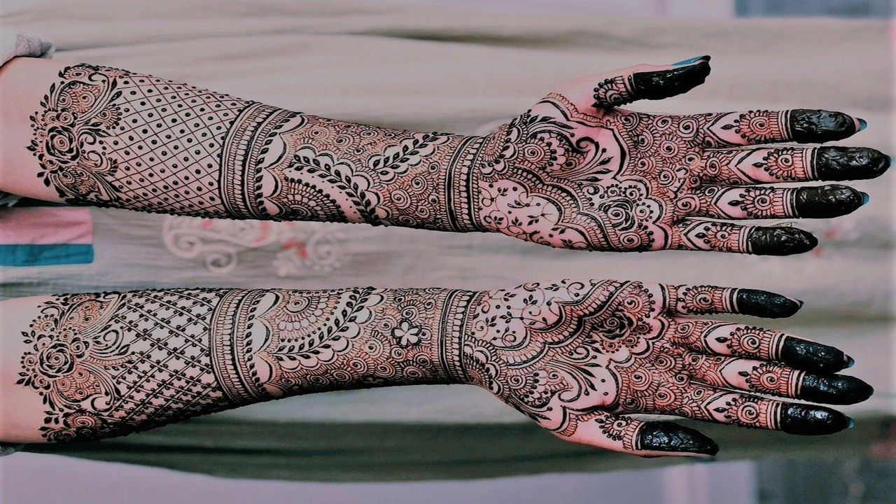 Latest Beautiful Bridal Mehndi Design 2020