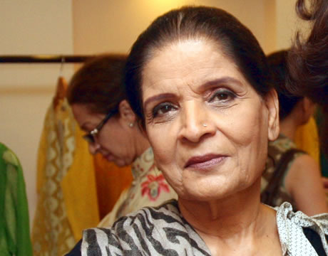 Zubaida Aapa in Fashion Week