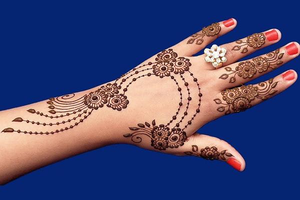 Arabic Eid Mehndi Design 2018