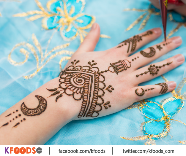 Arabic Beautiful Front Hand Mehandi Design