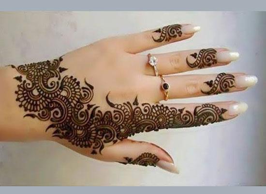 Mehndi Designs For Back Fingers : Finger mehndi design by beauty salon mehandi designs