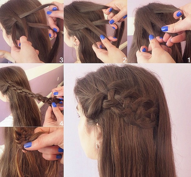 French Braid Tutorial Fashion Amp Style Photos Kfoods Com