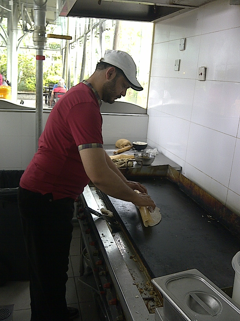 Large Indian Dosa by Chef Asad