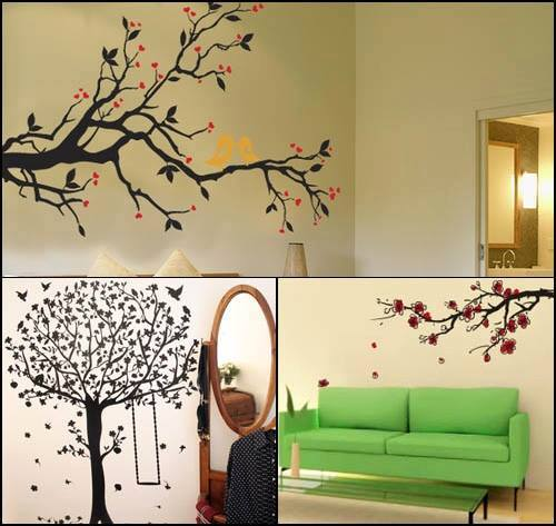 Tree Interior Design for Walls