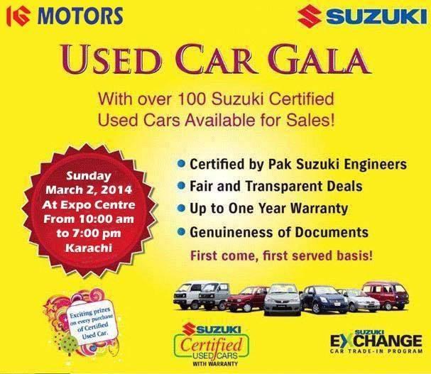 Suzuki Used Cars Gala 2014