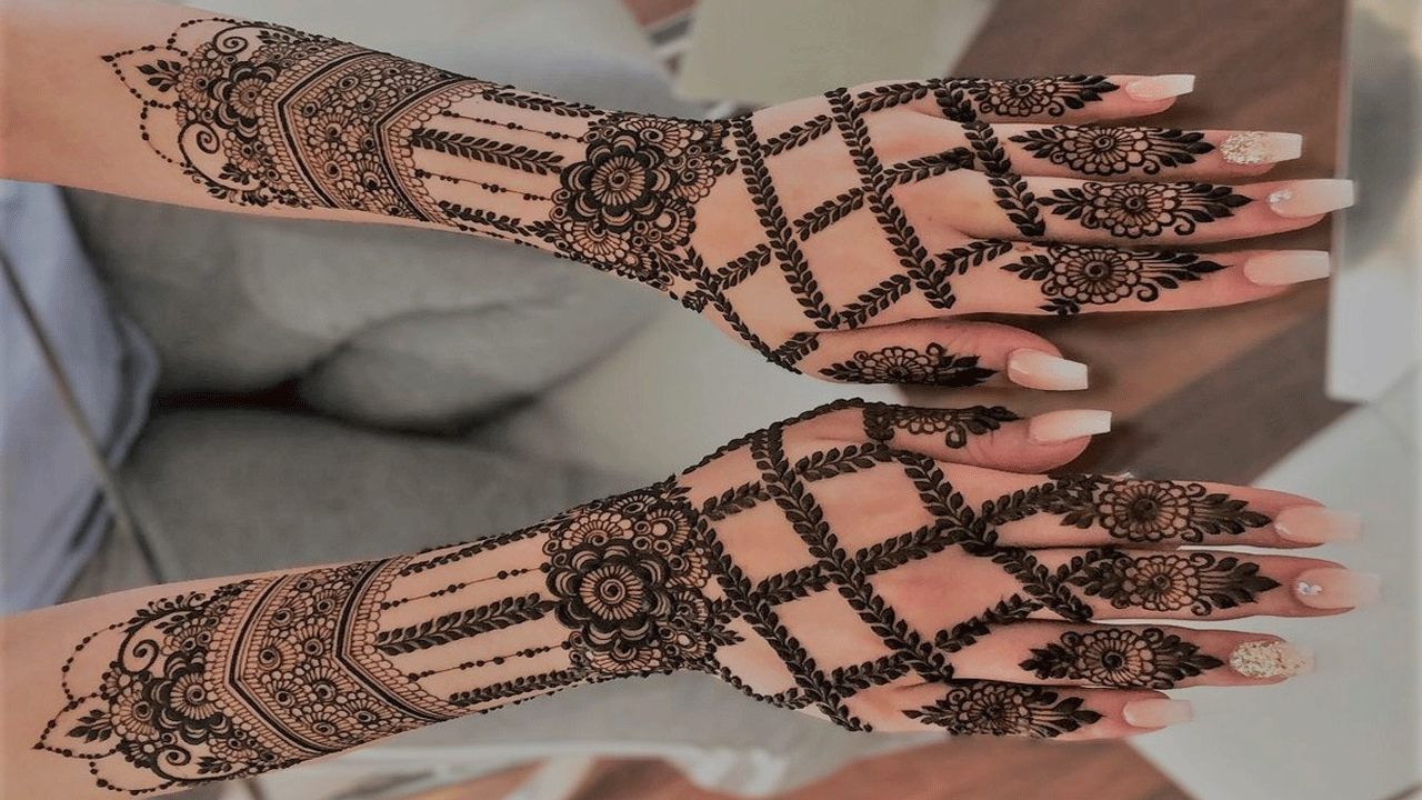 Unique Indian Mehandi Design 2020