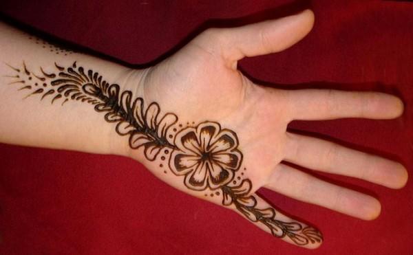 Beginners Mehndi Designs For Hands 2015